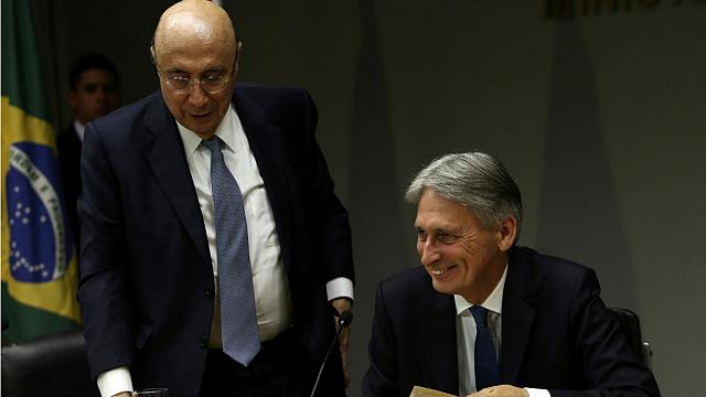Britain eyes trade deal with Brazil