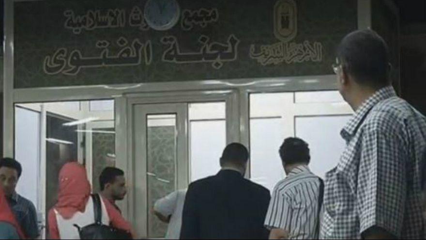 کیوسک فتوا در متروی قاهره