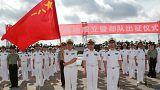 چین نخستین پایگاه نظامی خارجی خود را در جیبوتی افتتاح کرد