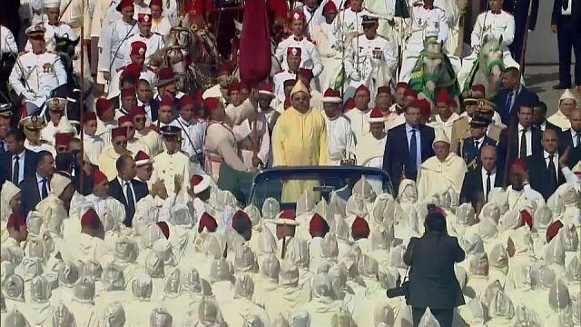 """المغرب يقيم """"حفل الولاء"""" للملك محمد السادس بقصر تطوان"""