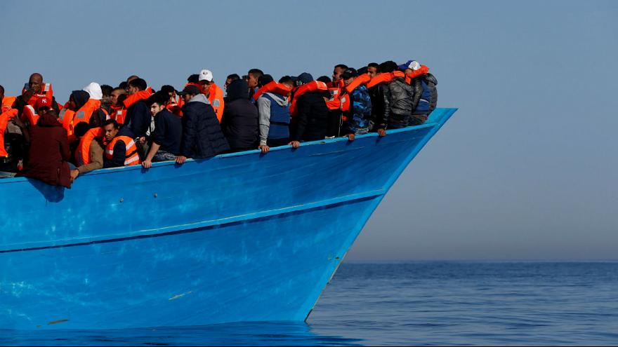 C-Star ship seeks to evade opponents as it heads out to disrupt migrant flow