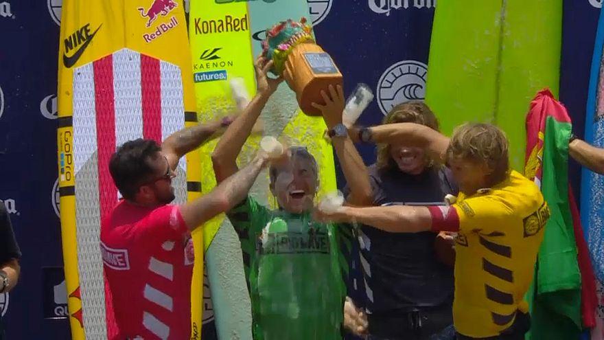 Surf : le sacre de Kai Lenny au Mexique