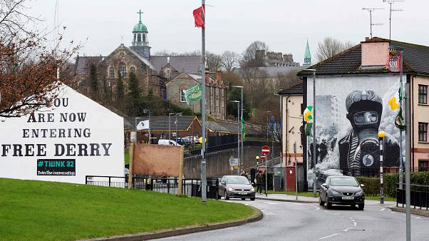 Image: The Bogside area of Derry, Northern Ireland