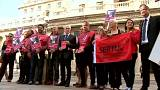 Primera huelga de empleados del Banco de Inglaterra en 50 años