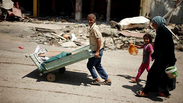 Az Iszlám Állam aknái tovább roncsolják a moszuliak életét