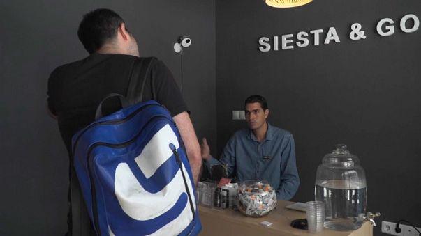 """Un """"bar à sieste"""" en Espagne"""