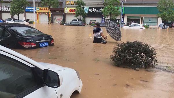 Deux cylones en deux jours en Chine