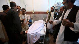 Rengeteg halott a herati mecsetben