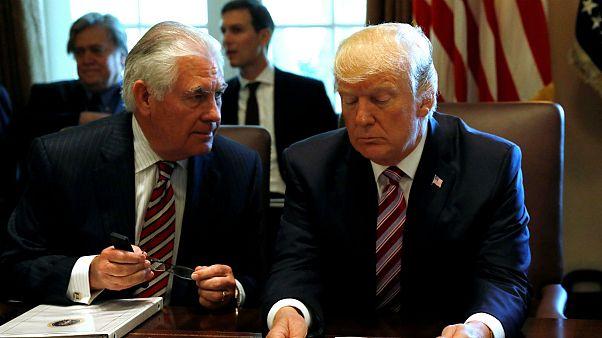 تیلرسون: با ترامپ درباره برجام اختلاف نظر داریم