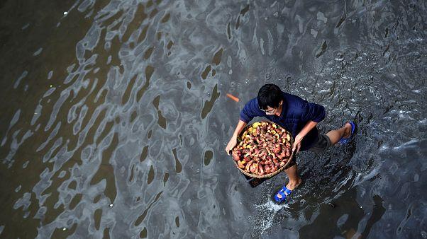 Κίνα: Σάρωσε ο τυφώνας Χαϊτάνγκ