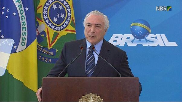 Brezilya'da Devlet Başkanı Temer için kritik oylama