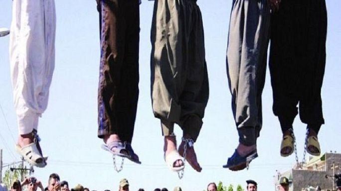 Todesstrafe im Iran immer schlimmer: Mehr als 100 Exekutionen in einem Monat