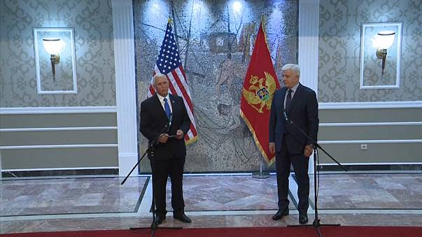 Mike Pence in visita in Montenegro