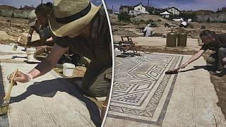 'Little Pompeii' uncovered by archaeologists south of Lyon