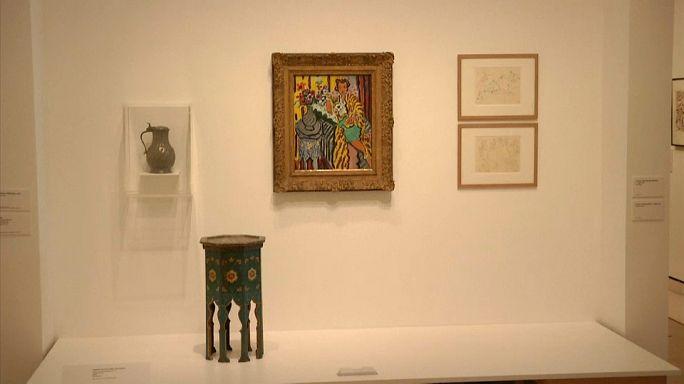 """Les objets de """"Matisse dans son atelier"""""""