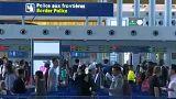 Retards dans les aéroports européens