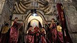 گزارش تصویری؛ برگزاری مراسم عشای ربانی در قره کلیسای هزار ساله