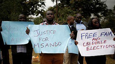 Kenya- élections: manifestations après l'assassinat d'un officiel