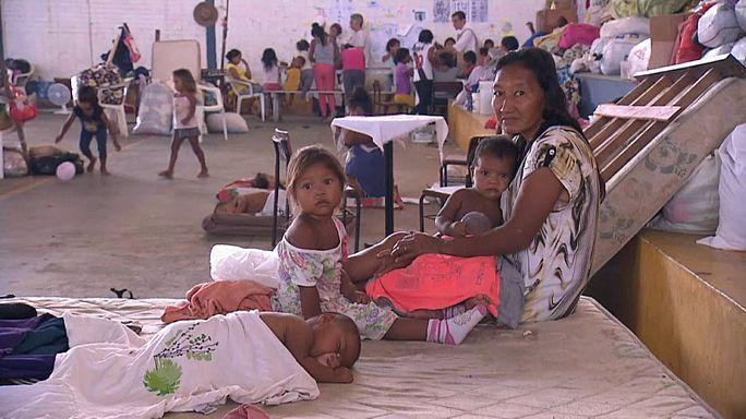 Venezuelanos encontram no Brasil um refúgio precário