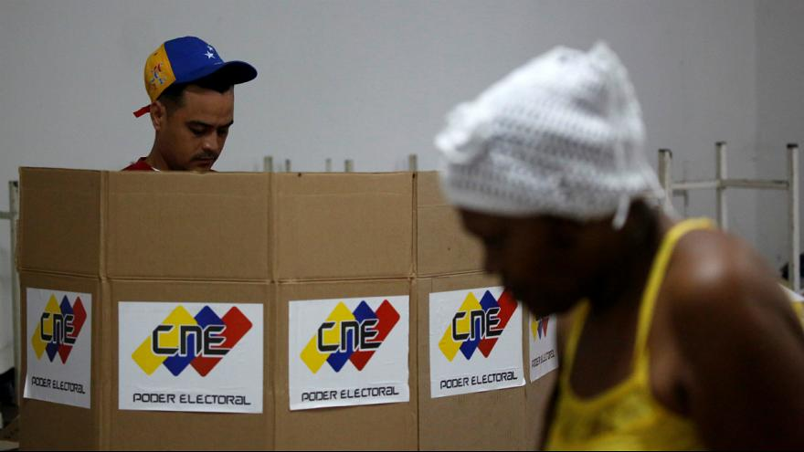 Turnout figures in Venezuela assembly ballot disputed