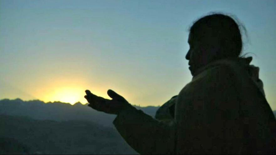 Pachamama szertartás Bolíviában
