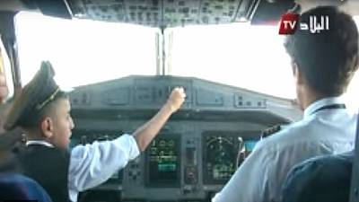 Algerian pilots suspended for allowing child to control domestic flight