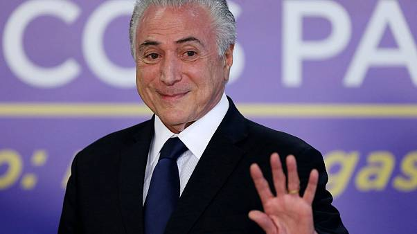 Brazilian President survives congress corruption vote