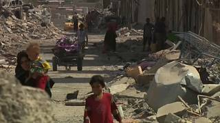 No home to return to: families' plight in war-ravaged Mosul