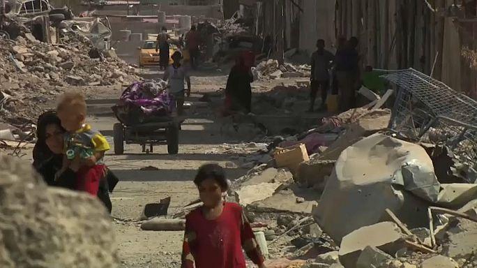El difícil resurgir de Mosul