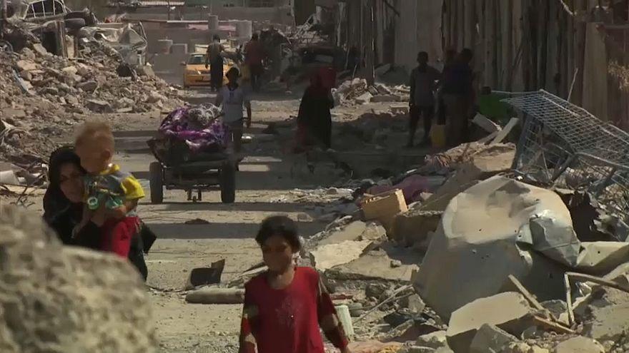 نازحو الموصل يعودون إلى ديارهم