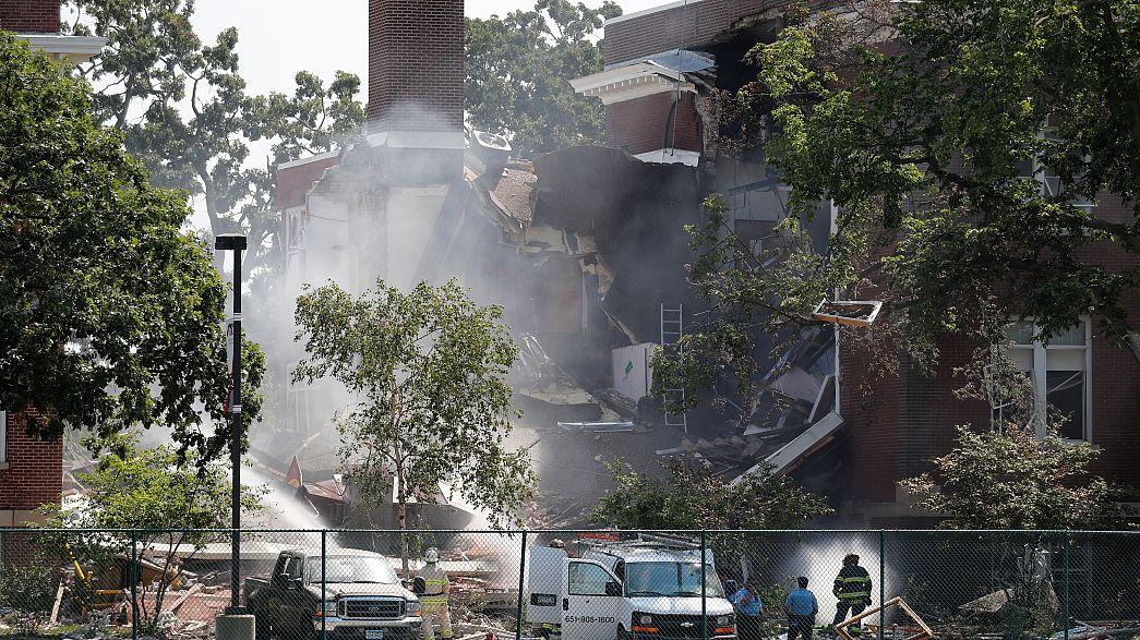 Explosion de gaz dans une école du Minnesota