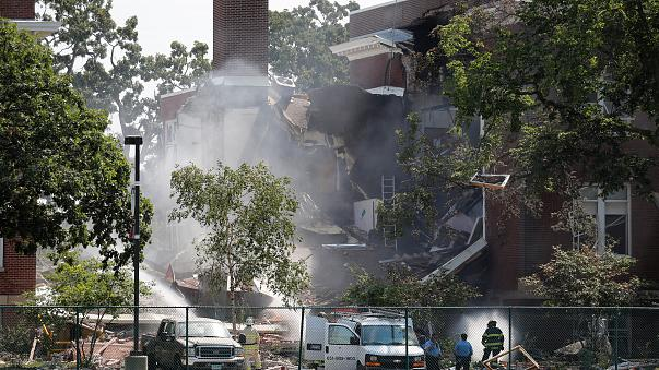 Two killed, nine hurt in Minneapolis school explosion