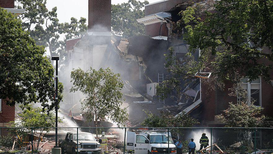 دست کم ۲ کشته در پی انفجار گاز در یک مدرسه در مینیاپولیس