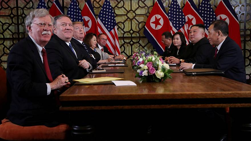 Image: FILE PHOTO: North Korea's leader Kim Jong Un and President Donald Tr