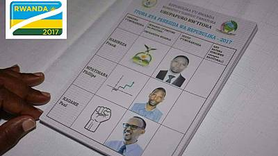 Rwandans vote in presidential election