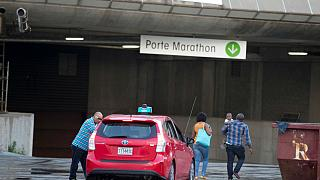 Quebec opens Olympic stadium to cope with surge in US asylum seekers