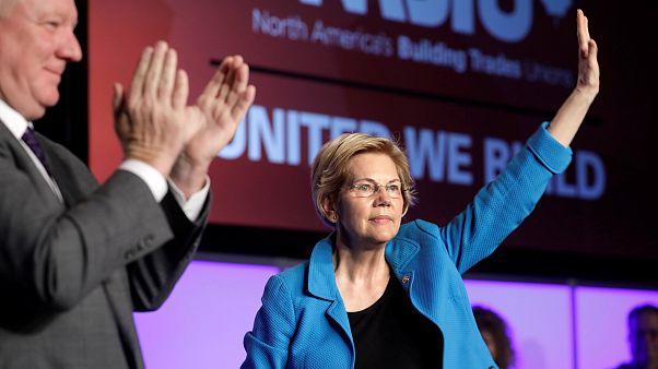 Image: Senator Elizabeth Warren speaks at NABTU legislative conference in W