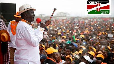 Kenya votes: Confident opposition chief  Odinga reiterates rigging claims