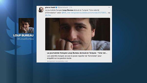 """Soupçonné de """"terrorisme"""", un journaliste français emprisonné"""