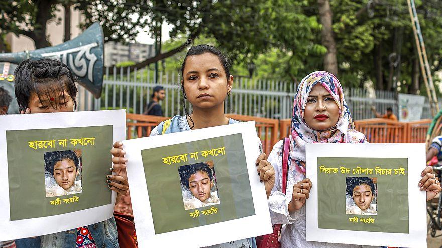 Image: BANGLADESH-ASSAULT-GENDER