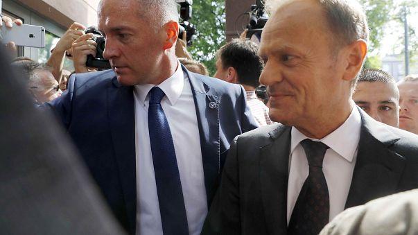 AB Konseyi Başkanı ifade vermek için Varşova'da