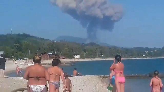 Взрыв боеприпасов в Абхазии: погибли туристы