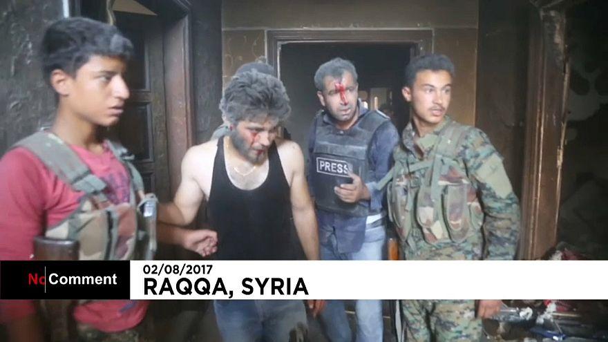 Car bomb in Raqqa injures journalists