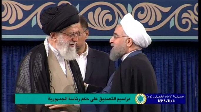روحاني رئيساً لإيران للمرة الثانية بعد مباركة خامنئي