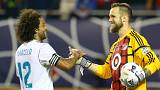 Real Madrid com triunfo modesto no adeus aos EUA