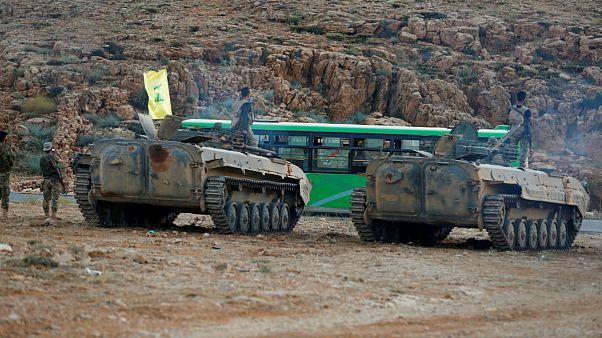 حزبالله لبنان پایان عملیات «پاکسازی» عرسال و قلمون را اعلام کرد