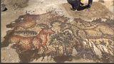 Adıyaman'da bulunan mozaik müzeye taşınıyor
