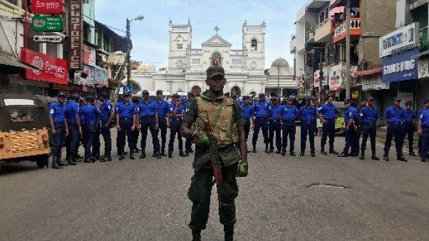 Six blasts hit three churches and three hotels in Sri Lanka