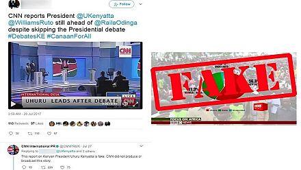 "Elections au Kenya : Facebook en croisade contre les ""fake news"""