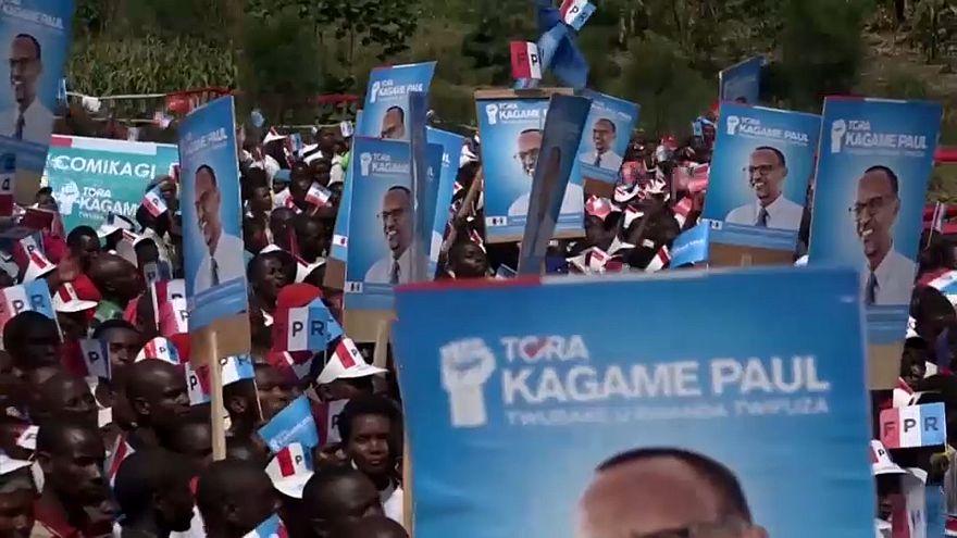 Kagamé ultra favori de la présidentielle